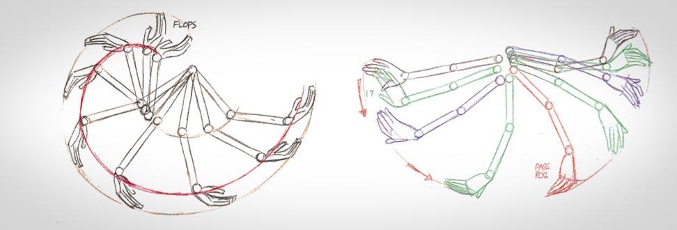 Creating an Arm Swing